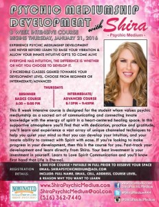 Shira Psychic Medium Development Class