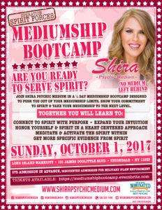 Shira Psychic Medium Mediumship Bootcamp Long Island NY